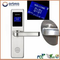 Wholesale High quality RF swipe card door locks and handles India fashion RF card hotel lock from china suppliers