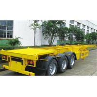 Wholesale 40 Tons Skeleton Semi Trailer  With 12 Twist Container Locks 20ft and 40ft 3 Axle from china suppliers