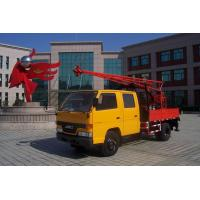 Wholesale Mobile Truck Mounted hydraulic engineering geological exploration and construction Drilling Rig from china suppliers