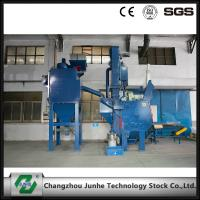 Wholesale Automatic Shot Blasting Machine / Industrial Shot Blasting Equipment High Efficiency from china suppliers