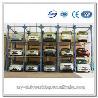 Wholesale On Sale! 4 Post 4 Floors Vertical Parking Car Stack Parking System 3-5 Level Parking Lift from china suppliers