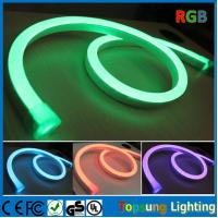 Wholesale 164' SMD5050 2 years warranty 11x18mm 220V full color RGB neon flex with DMX controlller from china suppliers