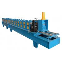 Wholesale 12 Stations Single Chain Drive Shutter Door Guard Rail Roll Forming Machine With 10-15m/min from china suppliers