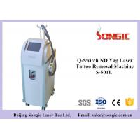 Wholesale Q Switch ND YAG Laser Tattoo Removal Machine with 1064nm / 532 nm from china suppliers