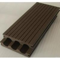Wholesale wood grain waterproof WPC crack-resistant decking good price wood plastic composite decking extruded plastic from china suppliers