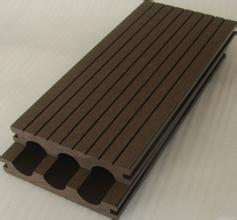 Buy cheap wood grain waterproof WPC crack-resistant decking good price wood plastic composite decking extruded plastic from wholesalers