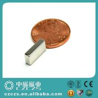 Wholesale Permanent Little Block Magnet Ndfeb with Neodymiun Chemical Element from china suppliers