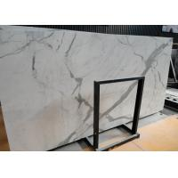 Wholesale Italian Calacatta Nature Marble Slab Countertop For Kitchen Bar OEM / ODM Avaliable from china suppliers