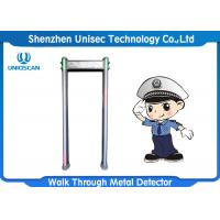 Wholesale Outdoor Door Frame Metal Detector 6/12/18 Zones For Security Inspection from china suppliers