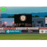 Wholesale P10 Football Stadium LED Display Billboards Advertising WIFI Control from china suppliers