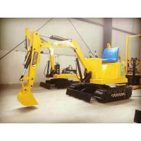 Wholesale Electric Kids Digger Toys Backhoe Excavator Rides Playground Amusement Equipment from china suppliers