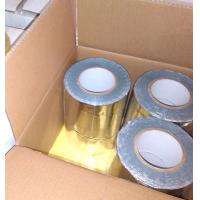 Wholesale GRAY COLOR BUTYL RUBBER ADHESIVE WITH COLORFUL ALUMINIUM FOIL FLASHING TAPE from china suppliers