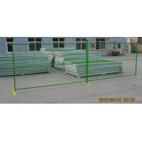 Buy cheap Hot sale 6' X10' popular Canada welded construction Temporary Fence from wholesalers