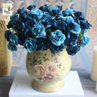 Wholesale UVG table centerpieces fake roses silk wedding bouquets for party table decoration FRS67 from china suppliers