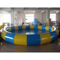 Wholesale 0.9mm PVC Tarpaulin Inflatable Family Pool for Swimming Round from china suppliers