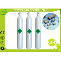 Wholesale CF4 Carbon Tetrafluoride Electronic Gases / Refrigerant R14 Gas from china suppliers