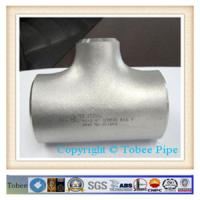 "Wholesale 10"" sch40 SEAMLESS reducing tee from china suppliers"