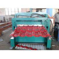 Wholesale Roll Forming Machinery 5.5KW Motor Power , Glazed Tile Roll Forming Machine For Roof Sheet from china suppliers