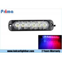 Wholesale 6 LED LED Warning Lights, Red / Blue Car Led Emergency Light Bar from china suppliers