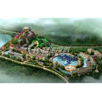 Wholesale Outdoor Commercial Water Park Project / Water Park Design with Spiral Water Slide , Water Toys from china suppliers