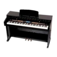 Wholesale Light Rosewood Multifunctional 88 Key Digital Piano With Large Screen Display DP8808A from china suppliers