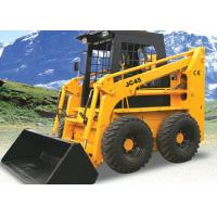 Wholesale 1400 Kg Tipping Load 4WD Skid Steer Loader With Bobcat Attachments 40° Dumping Angle from china suppliers