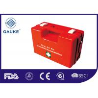 Wholesale Durable Red Medical First Aid Kit In ABS Box Empty Box With Wall Bracket from china suppliers