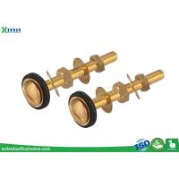 Wholesale Easy Install Brass Toilet Bolts Set Of Two For Connection Of Close Coupled WC from china suppliers