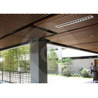 Buy cheap Modern Strip Ceiling Panel WPC ECO Composite Wood For Indoor Decoration from wholesalers