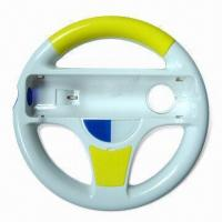 Wholesale Racing Car Steering Wheel with Several Colors Available, Suitable for Wii from china suppliers