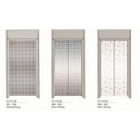 Wholesale Stainless Steel Elevator Spare Parts Silver Elevator Door 2400mm Height from china suppliers