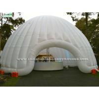 Wholesale Outdoor Activities Air Inflatable Tents / Giant Inflatable Dome Tent With Light from china suppliers