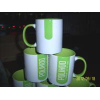 Wholesale 7102 white inside colors ceramic mug cup custom your LOGO from china suppliers