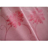 "Wholesale Beautiful Pink Flower Polyester Elastane Fabric Cloth 57"" / 58"" Width from china suppliers"