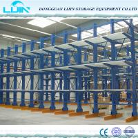 Wholesale Professional Cantilever Storage Racks Various Column Arm Sizes Spray Painting Surface from china suppliers