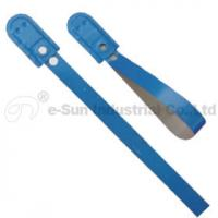 Wholesale Plated Tin Strip Trailer Security Seals / Door Seals / Truck Seals With 50kgs Pull Load from china suppliers