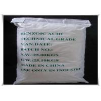 Wholesale White Benzoic Acid Flakes For OA Acid / Food Preservative / Modifying Agent from china suppliers