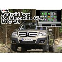 Wholesale 1.6 GHz quad core Mercedes benz GLK gps navigator android mirrorlink rearview video play from china suppliers