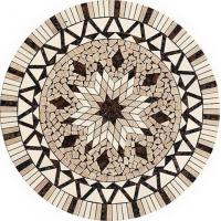 Wholesale Bathroom Round Stone Mosaic Tile, 10x10mm Marble Mosaic Floor Tiles from china suppliers