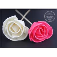Wholesale Beautiful Indoor 9cm Dried Diffuser Flowers Handmade Artificial Flowers from china suppliers