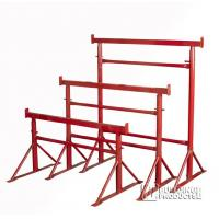 Wholesale Painted Adjustable Steel Trestles / Industrial  Builders Trestles For Construction from china suppliers