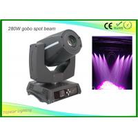 Wholesale Rgbw Led Moving Head Spot Light , Sharpy Moving Head Light 9 Rotating Pattern from china suppliers