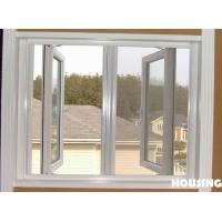 Wholesale Single tempered saftety glass / Double Glazed Aluminum alloy Casement type Window from china suppliers