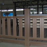 Wholesale Environment-friendly WPC Fencing with 10 Years Warranty, CE and ASTM Certified, Anti-slip from china suppliers
