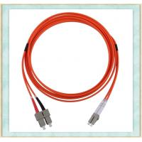 Wholesale Duplex Single Mode Fibe Optic Patch Cord With 2mm Diameter ST SC FC Connector from china suppliers