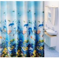 Wholesale Kids Polyester Bathroom Window Shower Curtain With Duck / Palm Pattern from china suppliers