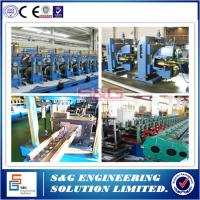 Wholesale Flexible Guard Rail Roll Forming Machine , Storage Rack Shelf beam sheet forming machine from china suppliers