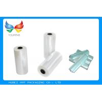 Wholesale Translucent POF Shrink Film Rolls , Heat Shrink Plastic Sheets Easy Wrapping from china suppliers