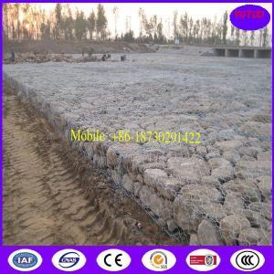 Wholesale Galvanized Zinc-Aluminium Alloy Gabion Basket from china suppliers