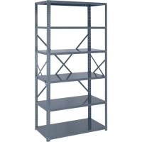 Wholesale 18 Gauge Industrial Storage Shelving Racks Freestanding Shelving Unit from china suppliers